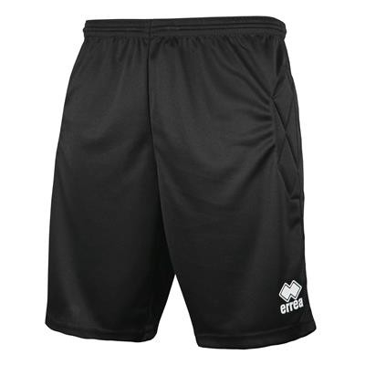 Errea Keepershort Impact JR Zwart