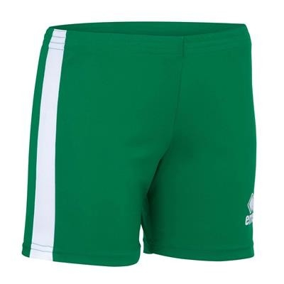 Errea Volleybalshort Amazon Woman Groen Wit