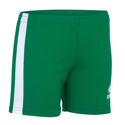 Errea Volleybalshort Amazon Woman JR Groen Wit