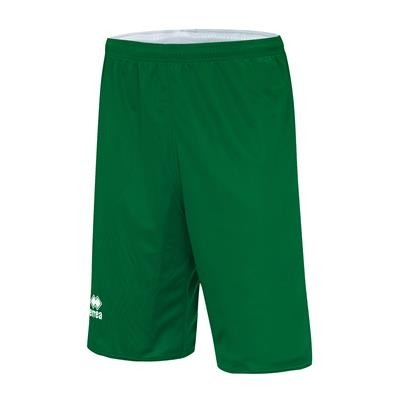 Errea Basketbalshort Double Chicago JR Groen Wit