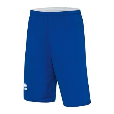 Errea Basketbalshort Double Chicago JR Blauw Wit