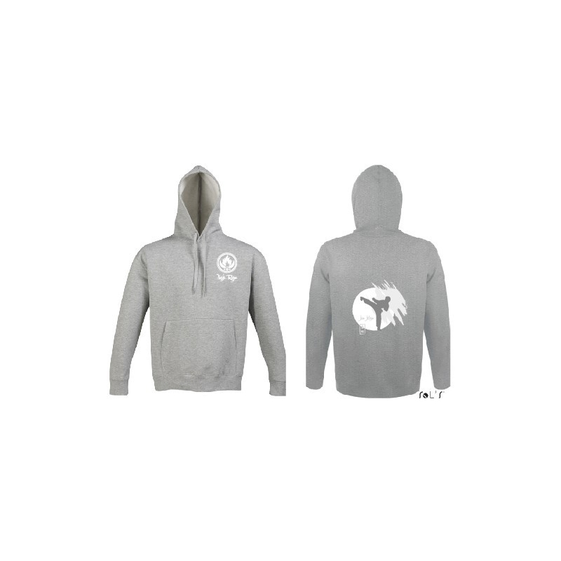 Ikiji Ryu Slam sweater-grijs