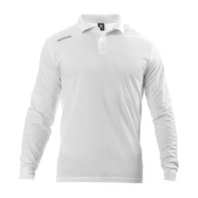 Errea Polo Team 2012 LS Wit