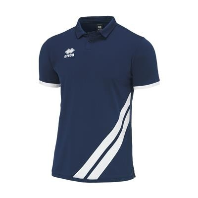 Errea Polo John SS JR Navy Wit