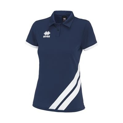 Errea Polo Jana JR Navy Wit