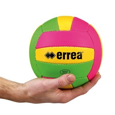 Errea Mini Volley Xv Ball Fluoroze Fluogeel Fluogroen