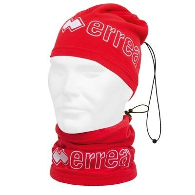 Errea Neck-Warmer Jumar Jr Rood Wit