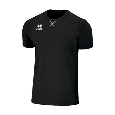Errea T-Shirt Professional 3.0 S/S Ad Zwart