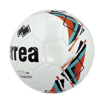 Errea Diamond Ball Wit Fluo-oranje Turquoise