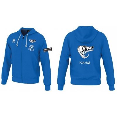 Erreà Wire sweater kon blauw- Mibac Middelkerk