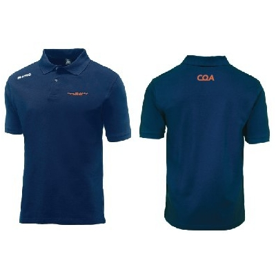 Erreà CQA Team color polo (versie 1) - Navy