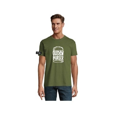 Yane&Kjell t-shirt men-green -Oudenburger