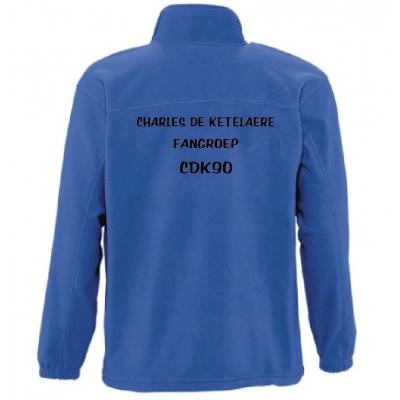 CDK90 Fangroep Fleece jas
